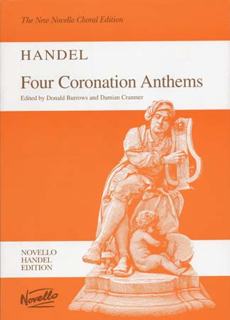 HAENDEL G.F. - FOUR CORONATION ANTHEMS - VOCAL SCORE