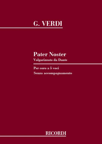 Verdi G. - Pater Noster - Choeur