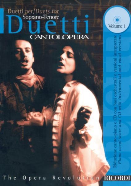 Cantolopera: Duetti Per Soprano E Tenore + Cd Vol. 1