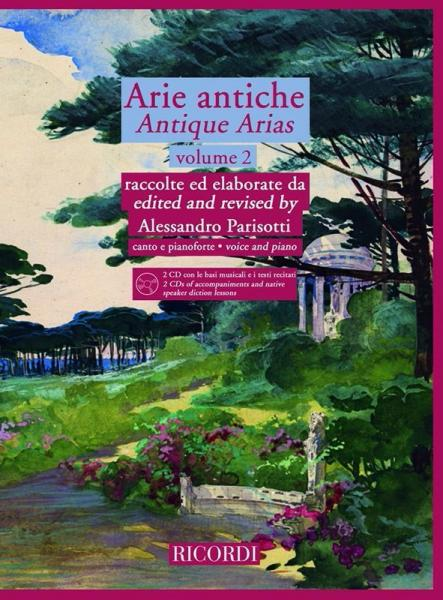 ARIE ANTICHE - ANTIQUE ARIAS VOL.2 + CD - CHANT, PIANO