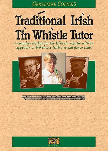 Cotter Geraldine Traditional Irish Tin Whistle Tutor - Pennywhistle