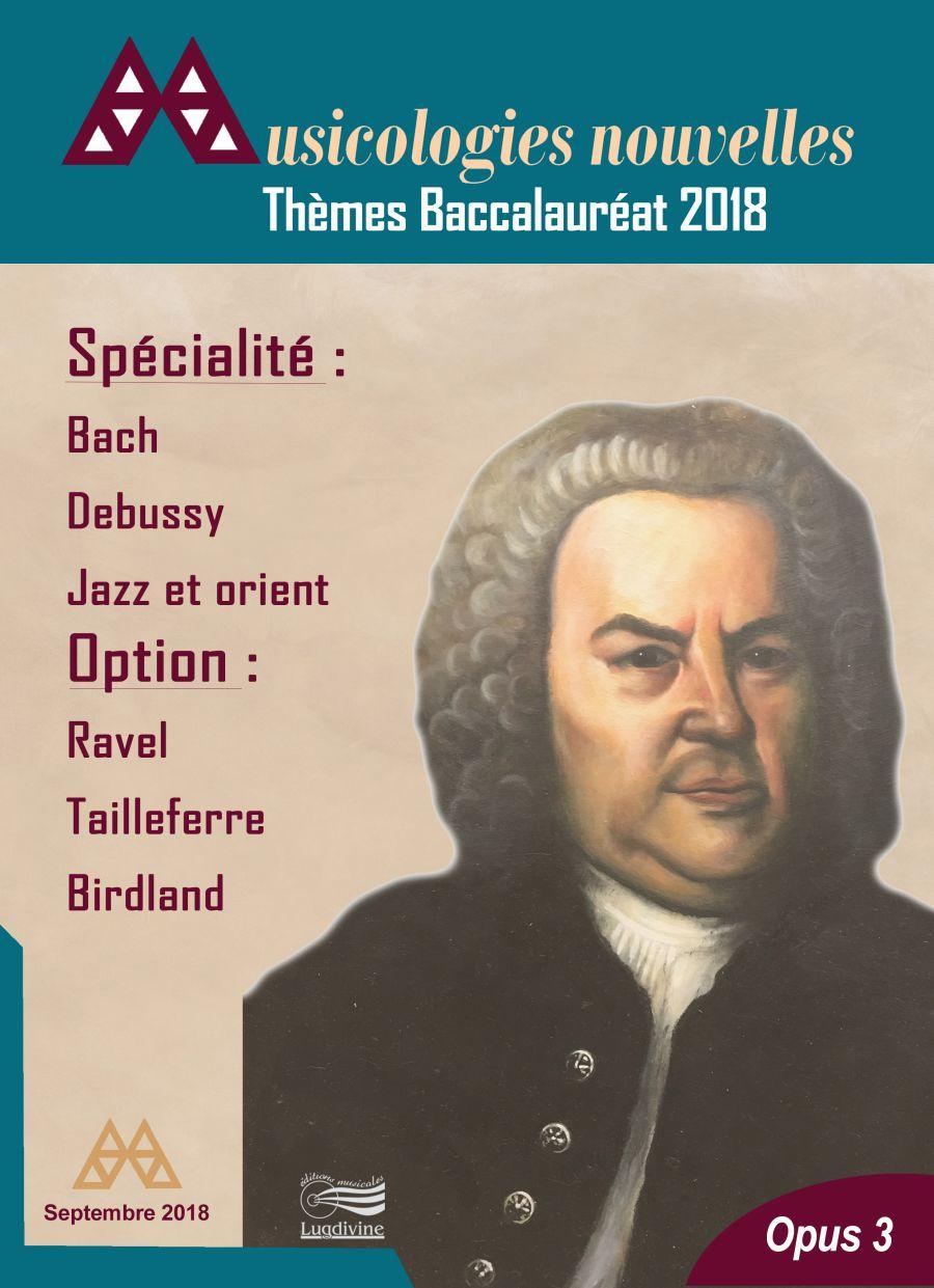 Revue - Musicologies Nouvelles - Baccalaureat 2018