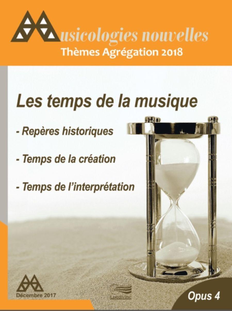 Revue - Musicologies Nouvelles - Agregation 2018