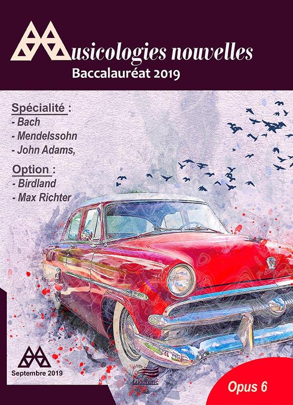 Revue - Musicologies Nouvelles - Baccalaureat 2019