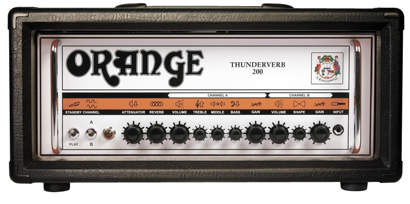 Orange Thunderverb 200 Black Tv200