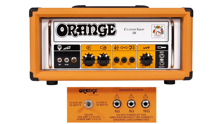 Orange Custom Shop 50w-30w Class A