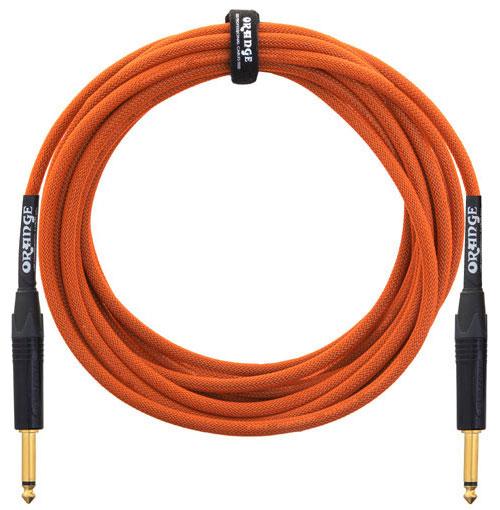 Orange Cable Guitare 6,60m Orange