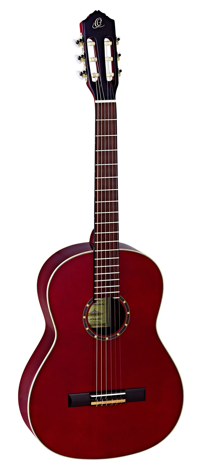 4/4 R121 SPRUCE SLIM NECK BURGUNDY