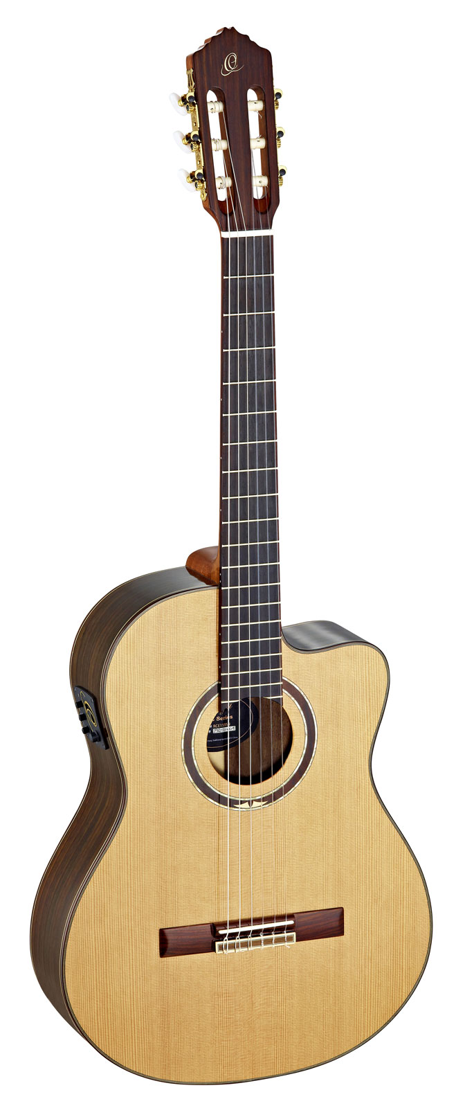 Ortega Rce159 Cedar Medium Neck Natural + Housse