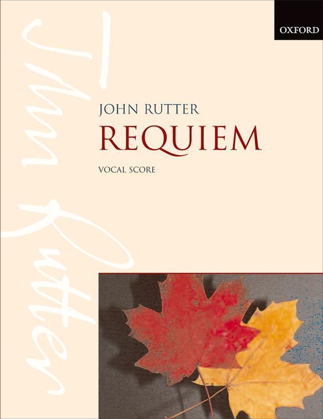 Rutter John - Requiem - Vocal Score
