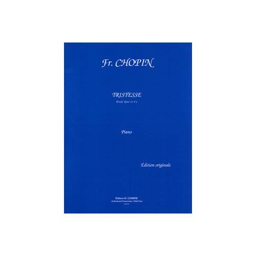 Etude 3 Tristesse Chopin: Partitions : Chopin Frederic : TRISTESSE (Trompette, Piano