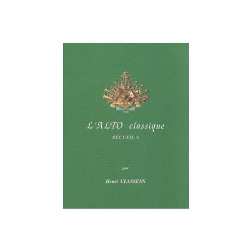 Classens Henri - L'alto Classique Vol.a - Alto Et Piano