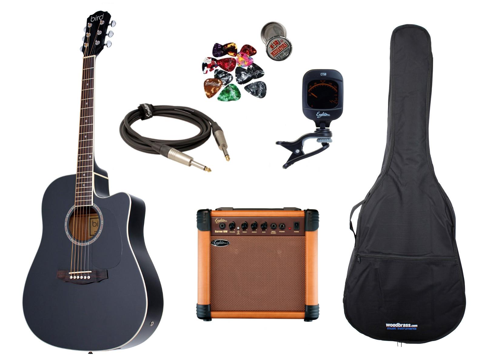 brighton easypack brighton dg1ce nl accessoires guitar. Black Bedroom Furniture Sets. Home Design Ideas