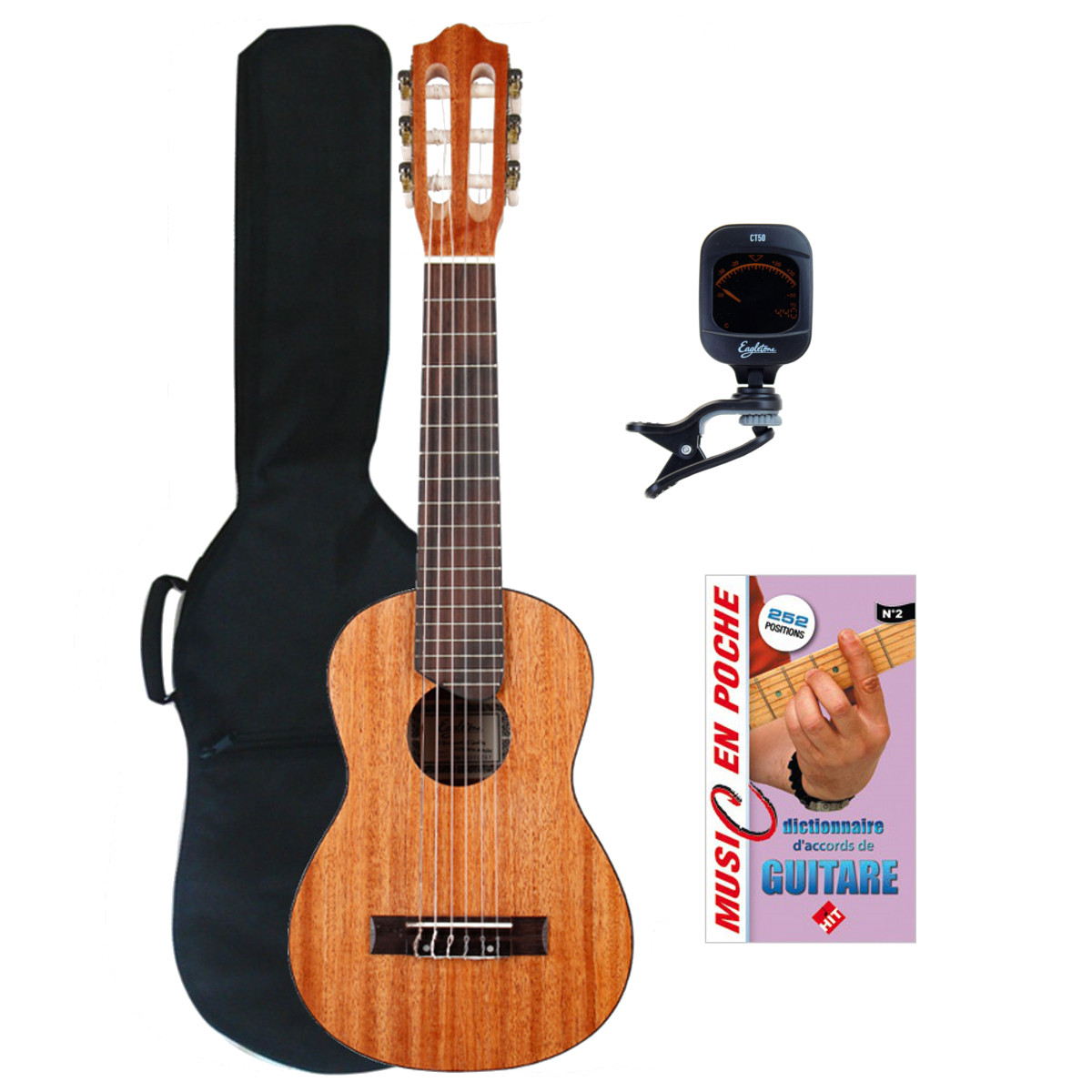 GUITARRITA MAHOGANY + ACCESSORIES