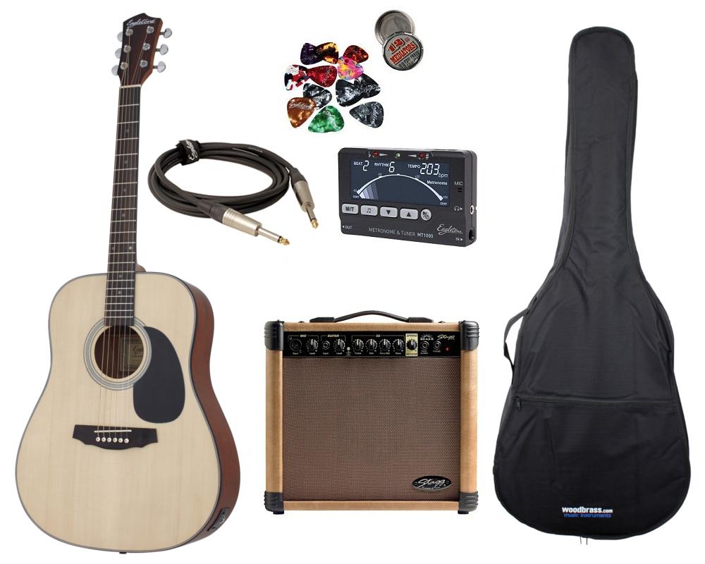guitare folk electro acoustique washburn d8sce naturel. Black Bedroom Furniture Sets. Home Design Ideas