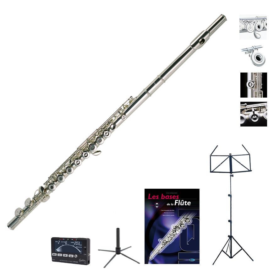 Pearl Flute Pack Quantz 505r