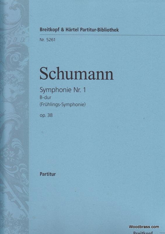 Schumann Robert - Symphonie Nr. 1 B-dur Op. 38 - Orchestra