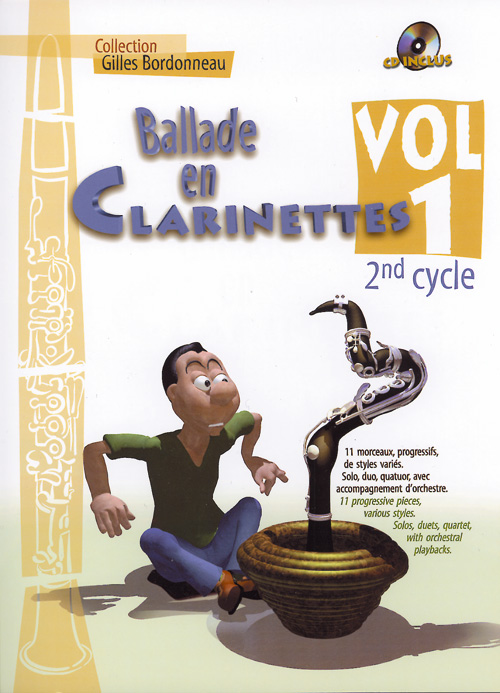 BALLADE EN CLARINETTE VOL.1 2EME CYCLE + CD