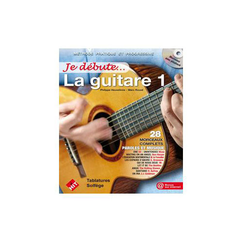 HIT DIFFUSION JE DEBUTE LA GUITARE + CD