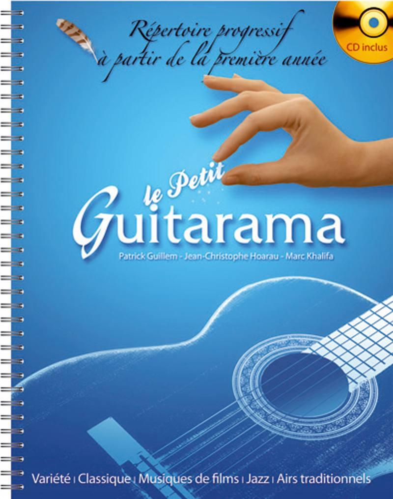 Petit Guitarama + Cd, Repertoire Pour La Premiere Annee De Guitare