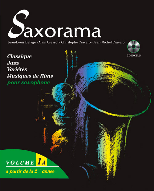 SAXORAMA VOL. 1A + CD