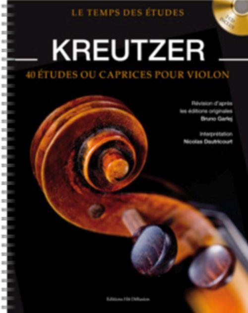 Kreutzer R. - 40 Etudes Ou Caprices Pour Violon + Cd