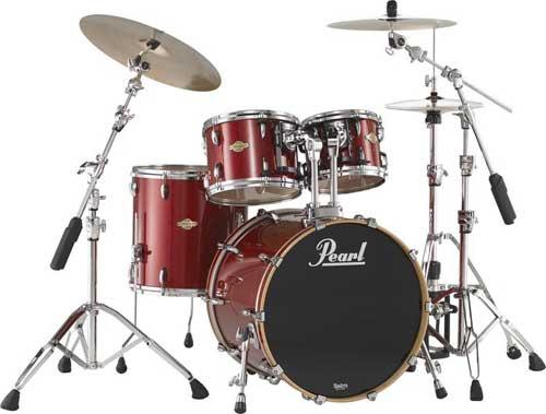 Pearl Masters Premium Birch Fusion 22 Drumset Wine Red