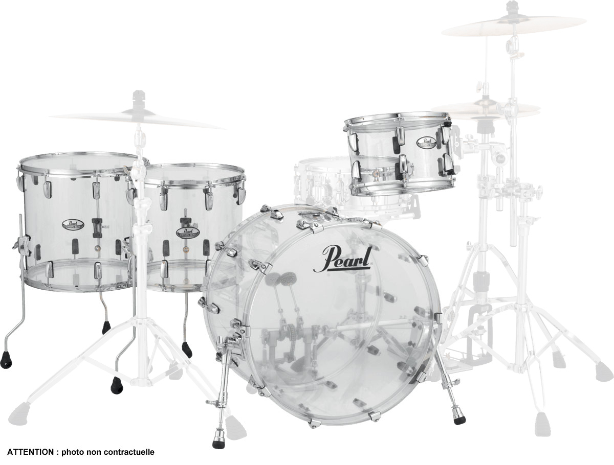 Pearl Crystal Beat - Crb524fpc-730 - Rock 22 4 Futs 2tb - Ultra Clear