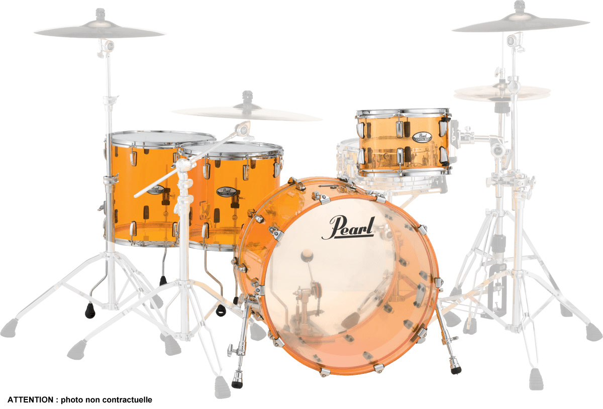 Pearl Crystal Beat - Crb524fpc-732 - Rock 22 4 Futs 2tb - Tangerine Glass
