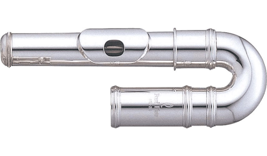 Pearl Flute Tete 505r Maillechort Courbe + Etui
