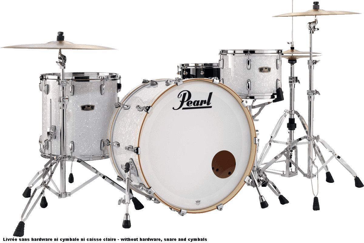 Pearl Fw943xpc-400 Wood/fiberglass - Rock 24 - White Marine Pearl