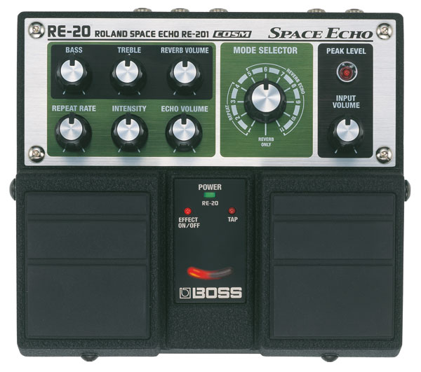 RE20 SPACE ECHO TWIN RE201 MODELISATION