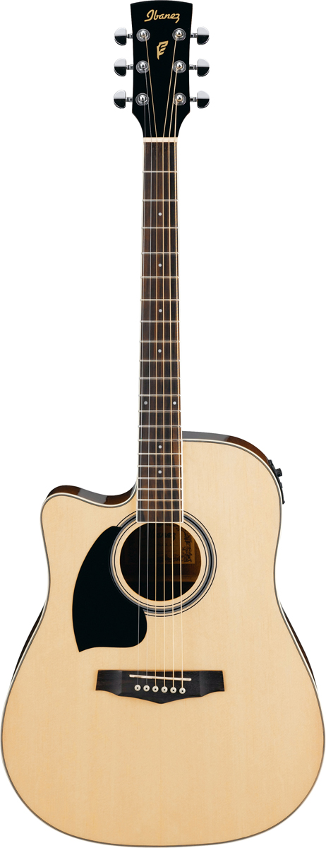 Ibanez Gaucher Pf15lece Nt Natural