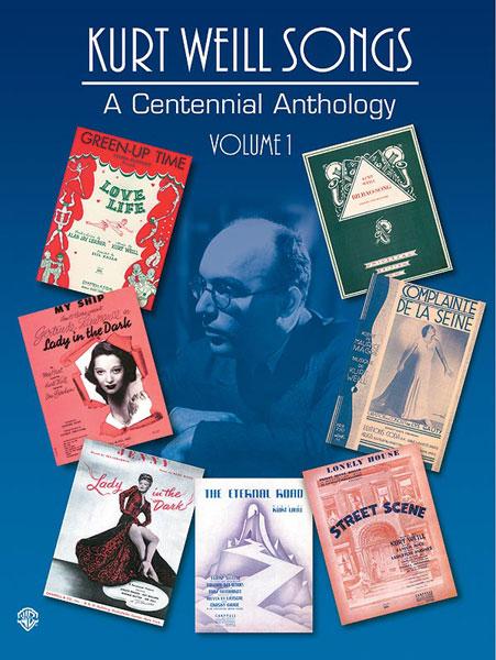 Alfred publishing weill kurt centennial anthology vol1 pvg