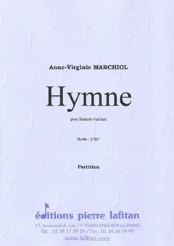 Marchiol Anne-virginie - Hymne  - Ensemble Mixte