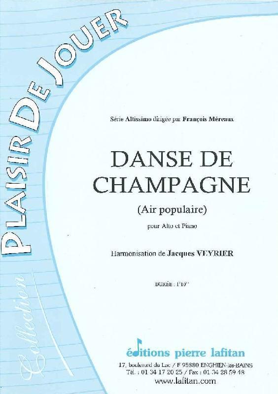 Veyrier J. - Danse De Champagne - Alto Et Piano
