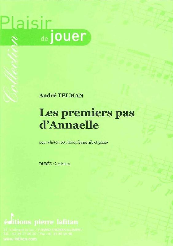 Telman Andre - Les Premiers Pas D'annaelle - Clairon Et Piano