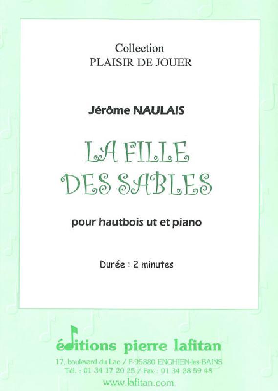 Naulais Jerome - La Fille Des Sables - Hautbois Et Piano