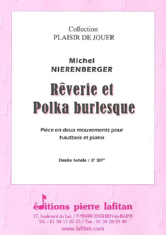 Nierenberger Michel - Reverie Et Polka Burlesque - Hautbois Et Piano