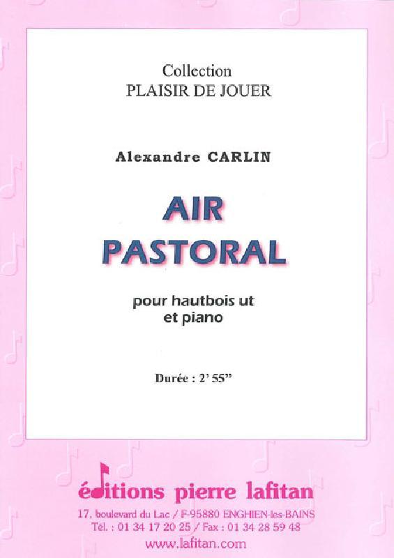 Carlin Alexandre - Air Pastoral - Hautbois Et Piano