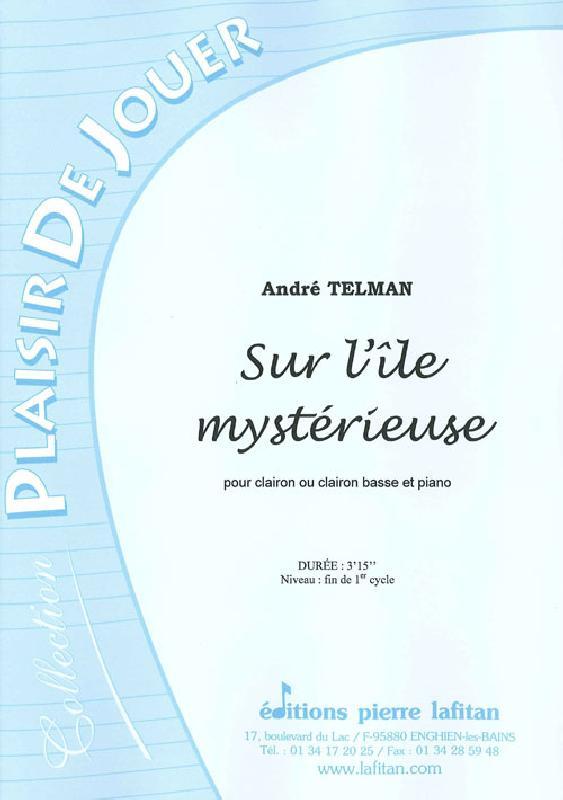 Telman Andre - Sur L'le Mysterieuse - Clairon Et Piano