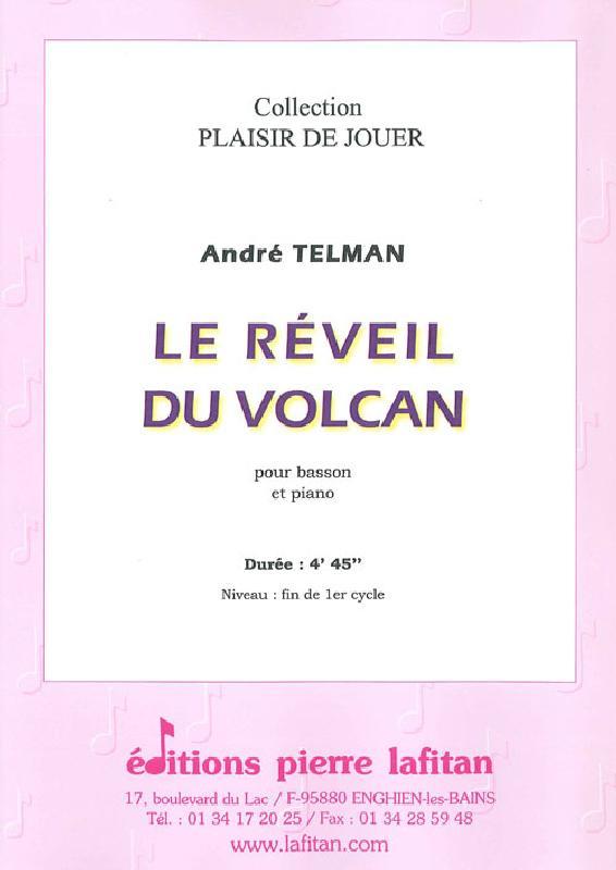 Telman Andre - Le Reveil Du Volcan - Basson Et Piano