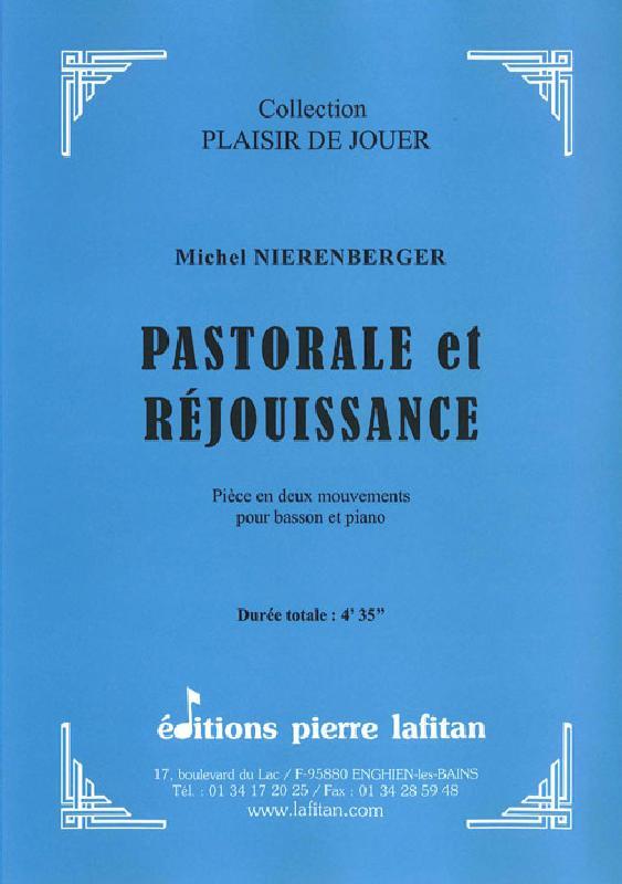 Nierenberger Michel - Pastorale Et Rejouissance - Basson Et Piano
