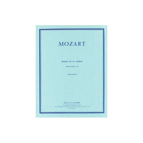 Mozart Wolfgang Amadeus - Sonate Facile N.15 En Ut Maj. Kv545 - Piano