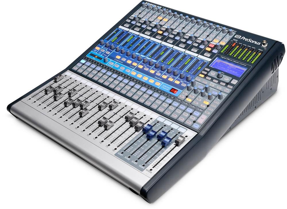 Presonus Live Sound Mixers Buy Online Free Scores Com