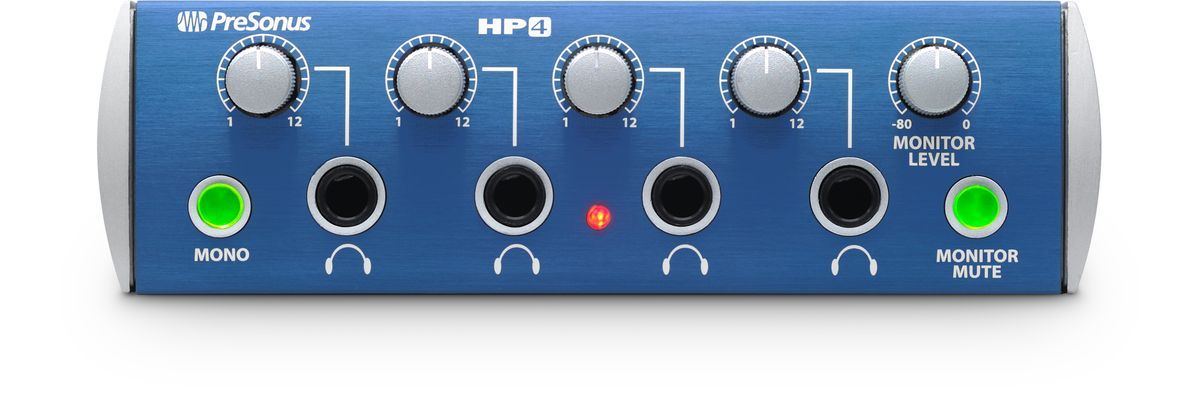 HP 4 - 4 CHANNEL HEADPHONE PREAMP
