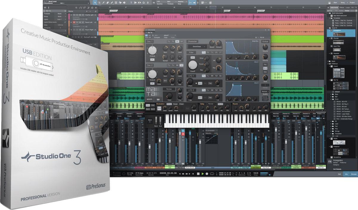 Image Studio One Pro V3 - Cle Usb