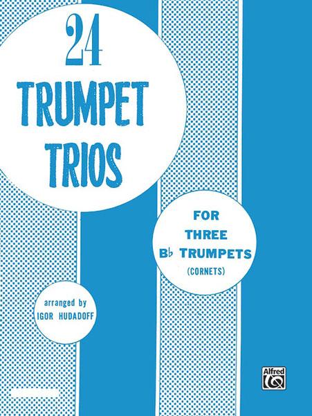 Hudadoff - 24 Trumpet Trios - Trumpet Ensemble