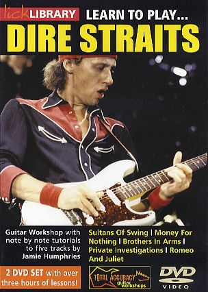 Learn To Play Dire Straits [dvd] - Guitar