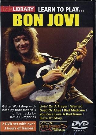 Learn To Play Bon Jovi [dvd] - Guitar